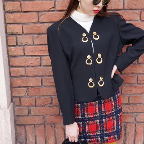 vintage gold charm jaket