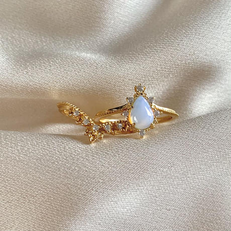 2 piece drop ring