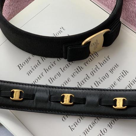 vintage Ferragamo belt