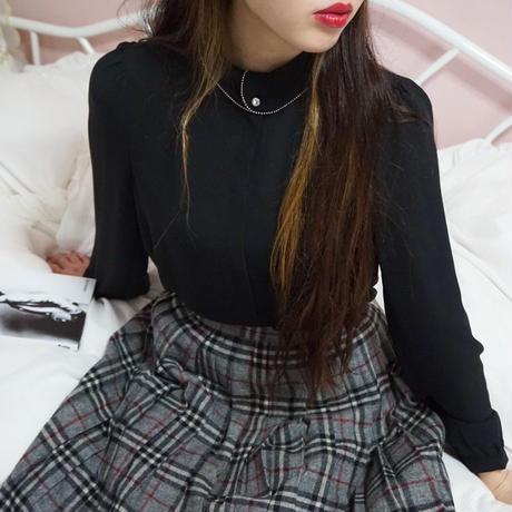 select neck design blouse