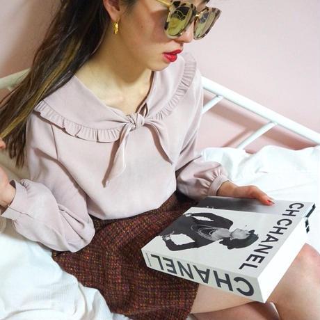 select  frill sailor   blouse