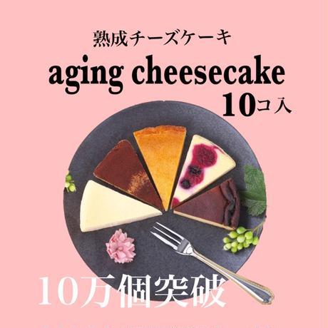 熟成チーズケーキ 10個入り(カット済)