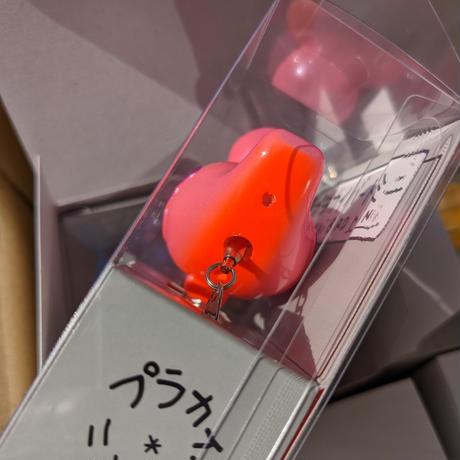 痴虫:イレギュラーモデル『プラカイバードミニ・スチールラトル』オレンジピンクパープル