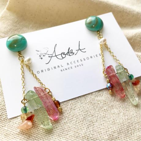 rock crystal  pierce