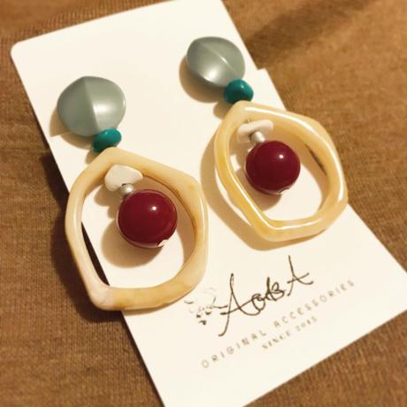 circle pierce/earring