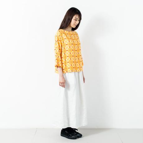 七分袖トップス 赤とんぼ