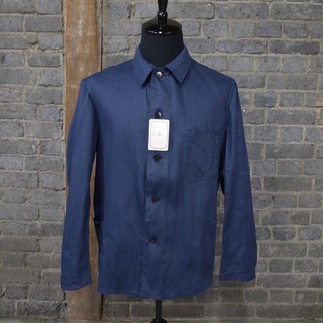 "mid 20th c. german cotton work jacket ""herringbone"""