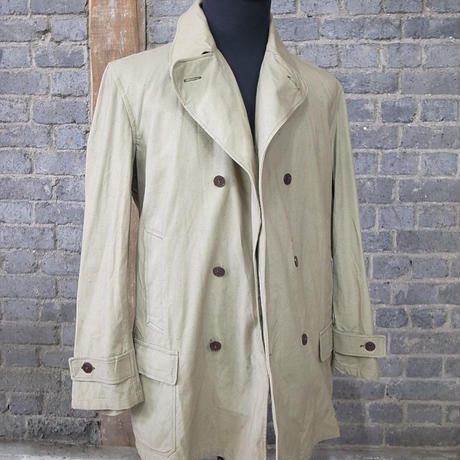 mid 20th c. german double breasted work jacket