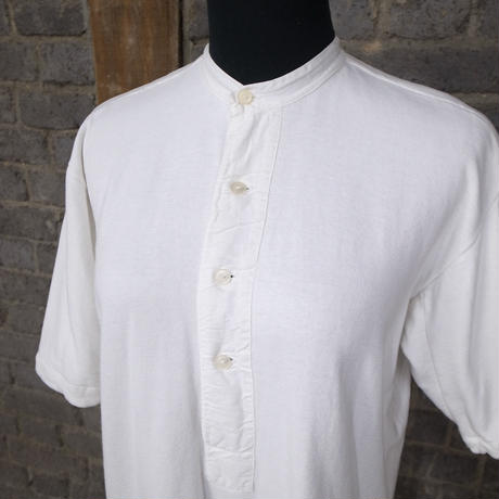 mid 20th c. french vintage cotton henry