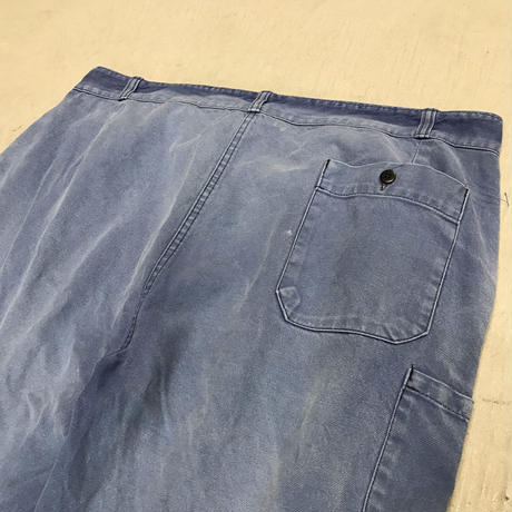 "mid 20th c. french cotton twill work pant ""fade art"""