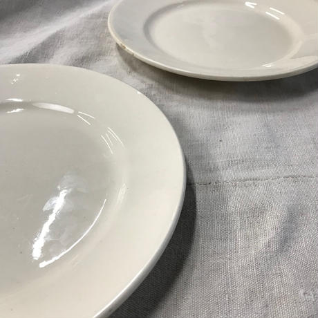 mid. 19th. c.  french antique plate 2set