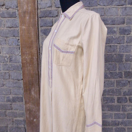mid 20th c.  german  cotton long shirt