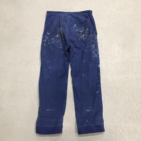 """mid 20th c. french work pants """"Le Mont Saint Michel"""""""