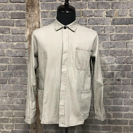 "mid 20th c. german cotton work shirts ""herringbone"""