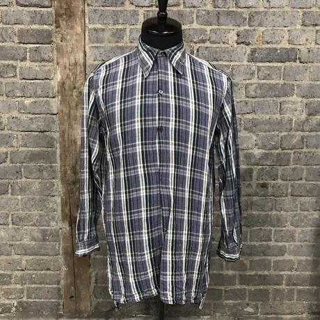 france vintage work shirts