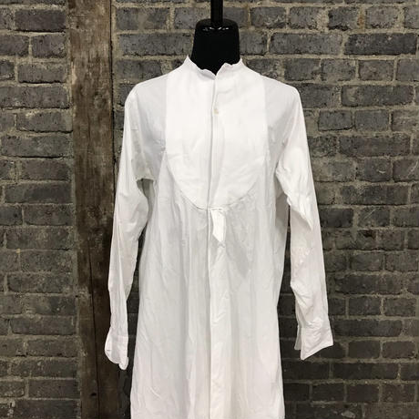 "early 20th c. french work shirt ""cotton linen"""