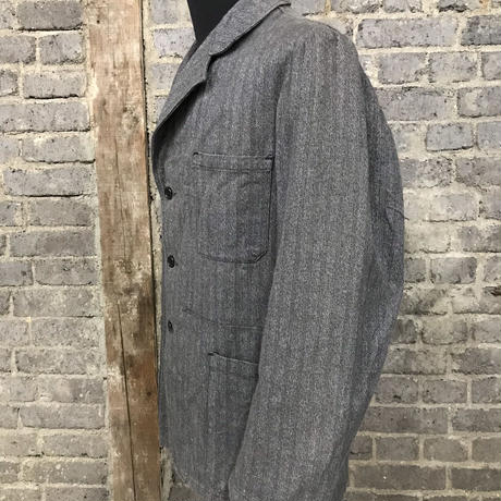 """mid 20th c. french solt & pepper work jacket """"maison rouge"""""""