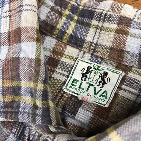 "france vintage work shirts ""ELTIVA"""