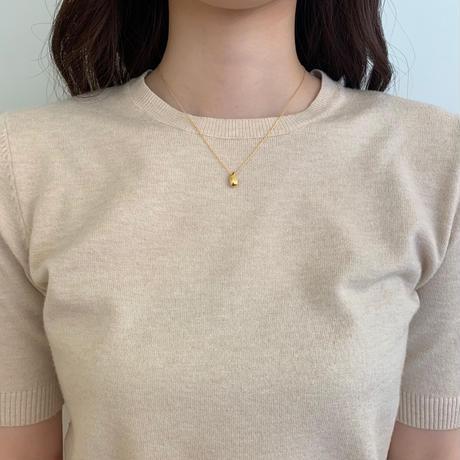 silver925 teardrop necklace