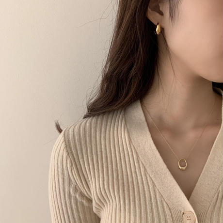 silver925 oval pendant