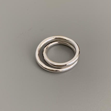 silver925 swirly ring