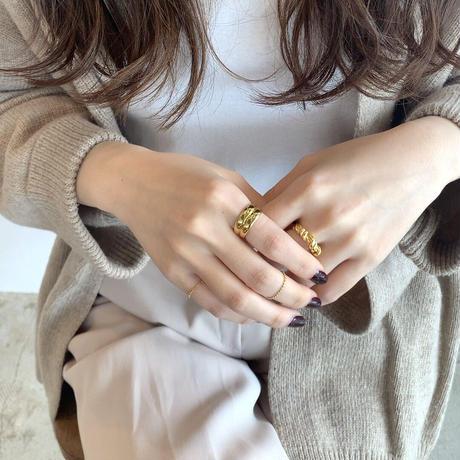 silver925 dot soft ring