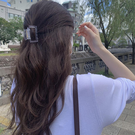 square hairclip