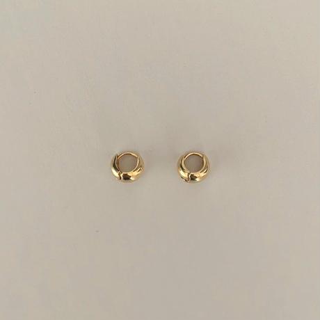 silver925 mini oval pierce pt.2