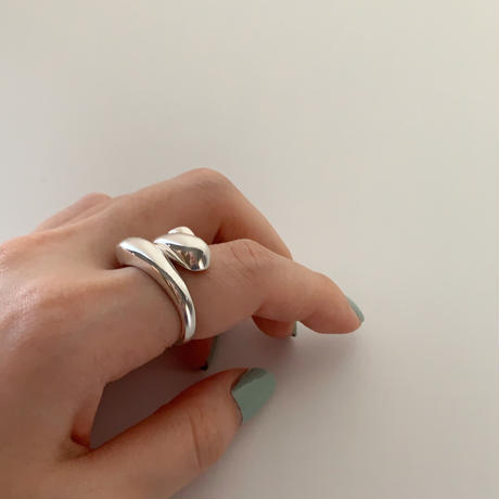silver925 root ring