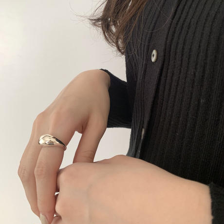 silver925 round ring