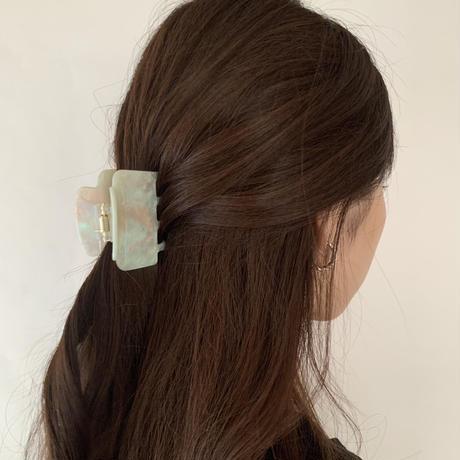 aurora shell hairclip