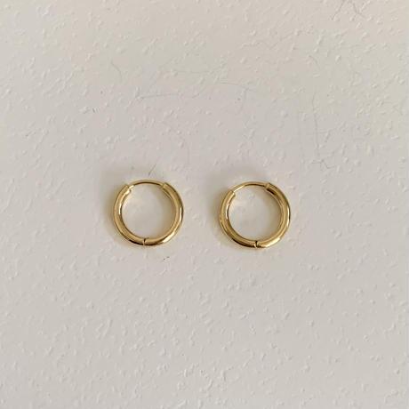 silver925 basic hoop pierce