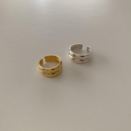 silver925 double ring