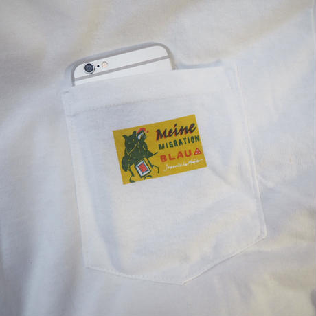 German match label pocket T-shirts (Yellow)