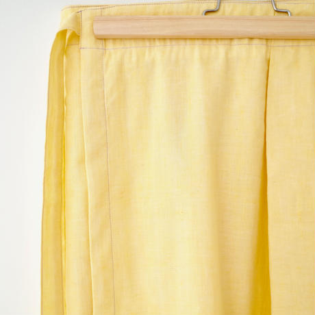 "A .Dupré  | Wrapped skirt  ""Light Yellow"""