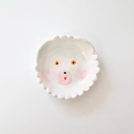 hikari masuda | 白くま豆皿