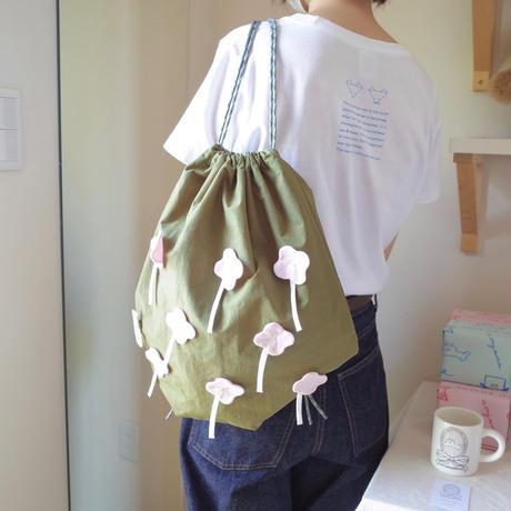 鈴木いづみ | お花のアップリケナップザック
