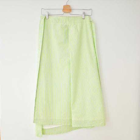 "A .Dupré  | Wrapped skirt  ""Neon Green"""