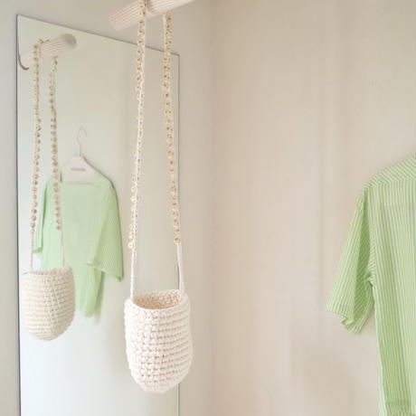 CIANSUMI | cotton wood block basket