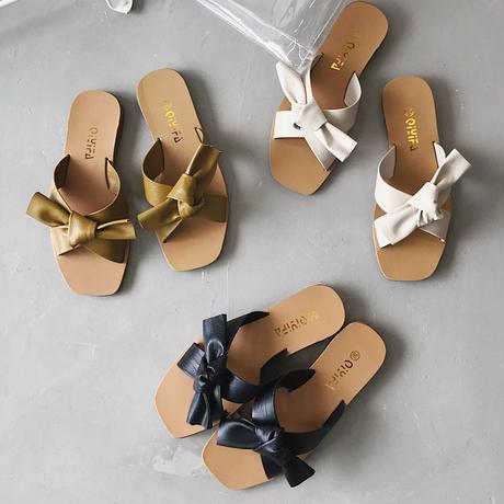 サンダル レディース ミュール 靴
