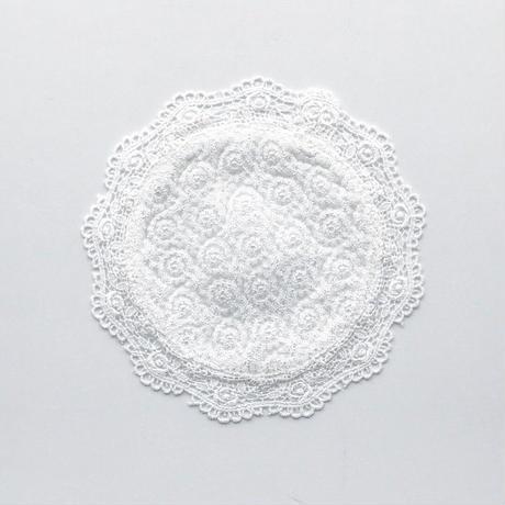 point de Japon / Doily (S) / Off White