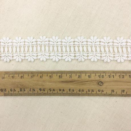 Guipure Lace Ladder Trim / Off White / 2m