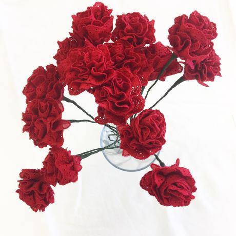 point de Japon / Artificial Flower / Red