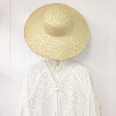 point de Japon / Capeline Hat / Natural