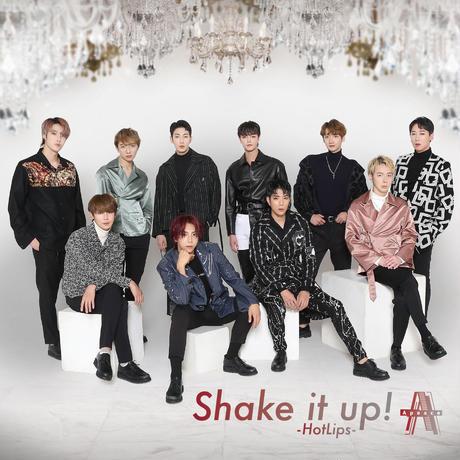 1月9日開催分「ソンホ&ジヌ&シヒョク」オンライングループサイン会(120秒間)特典付きCD「Shake it up! -HotLips-」3枚&サイン帳1冊セット