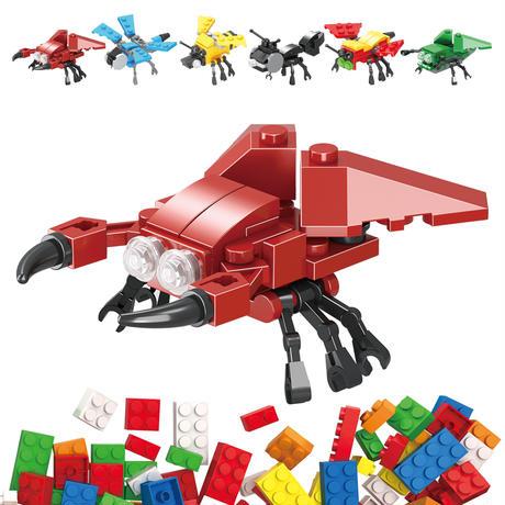 【昆虫はおまかせ】APブロックミュージアム 昆虫合体ブロック 1個入(何が出るかお楽しみ)