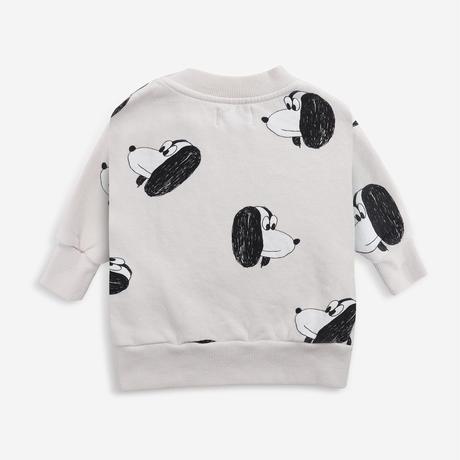 スウェット Bobo Choses  Doggie All Over sweatshirt(12-18M/18-24M/24-36M) / bobochoses(ボボショーズ)