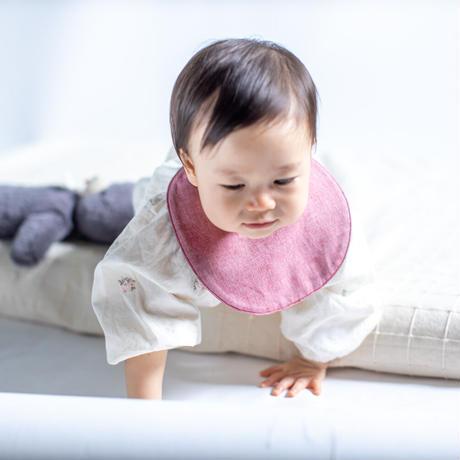 初めての保多織リバーシブルスタイ(2カラー) / (HATSUNO)