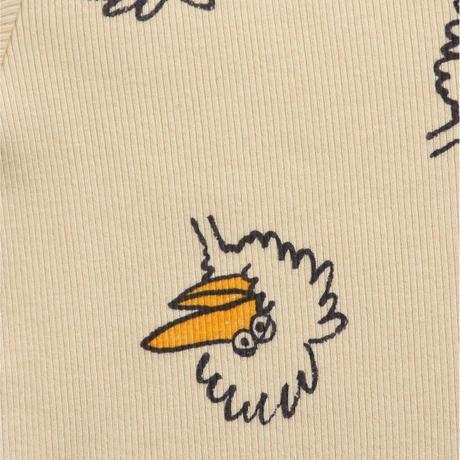 ボディウエアBirdie All Over body (6-12M) / bobochoses(ボボショーズ)