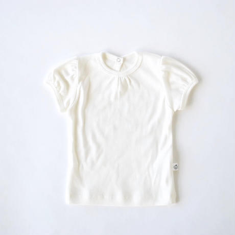 【ネコポス便送料無料】パフスリーブTシャツ /apibaby(アピーベビー)